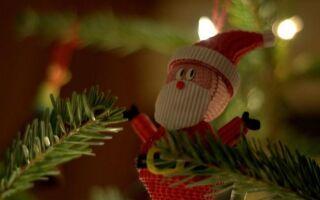 Рождественские украшения для окон и столов: покупайте или делайте