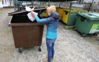 Biowaste — почему мы не имеем дело с сегрегацией? Что можно бросить в контейнер для биологических отходов