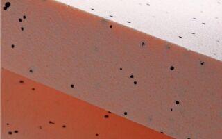 Удивительный оранжевый пенополистирол с УФ-фильтром