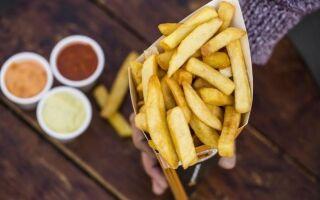 Жареные могут также быть здоровыми. Проверьте, как приготовить картофель фри