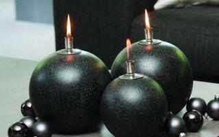 Декорации черного цвета не только для спальни (фотографии)