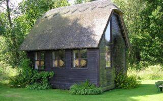 Малый дом — царство минимализма: материалы и установки
