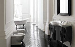 Ванная в стиле ретро — идеи для аранжировок (ФОТО)