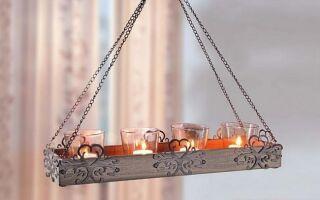 Подсвечники и фонари для создания настроения в интерьере