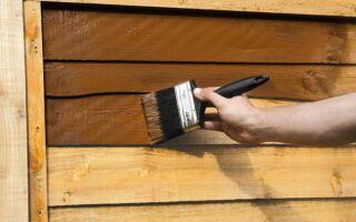 Как правильно закрепить древесину в саду. руководство