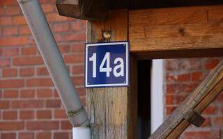 Отсутствие номера номера дома является преступлением. Дорого. Вы должны заплатить мандат PLN 250