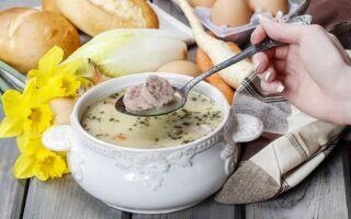 Пасхальный кислый суп несколькими способами. Найдите рецепт для себя