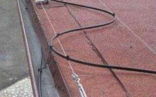 Отопительные желоба и крыша