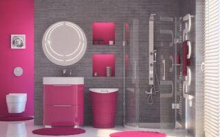 Розы в ванной: Барби будет чувствовать себя хорошо в ней