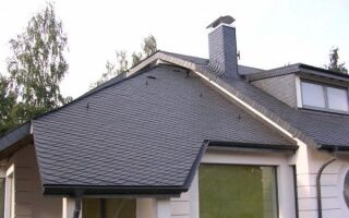 Конструкция крыши, устойчивая к ветру