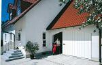 Боковая дверь с функцией переходной двери