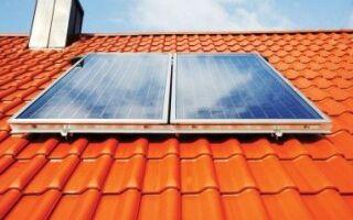 Экологическая солнечная установка