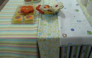 Модные скатерти для пасхального стола