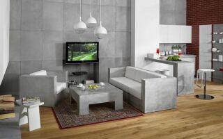 Дизайнерская мебель и аксессуары из архитектурного бетона