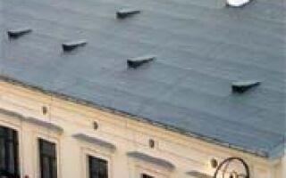 Какая плоская крыша