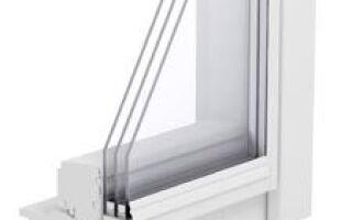 Окно с двухкамерным стеклом