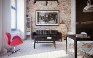 Расположение современных интерьеров: мансарды в стиле Нью-Йорка