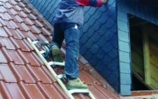 Лестницы для крыши — удобство и безопасность