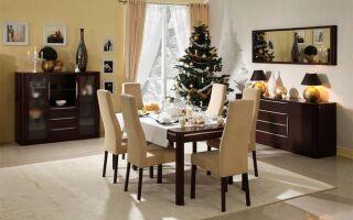 Рождественский стол — как его украсить