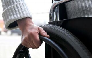 Кухня для инвалидов с инвалидной коляской