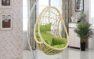 Висячие кресла, качалки и качели в расположении квартиры и многое другое