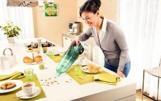 Ручной аккумуляторный пылесос для быстрой очистки