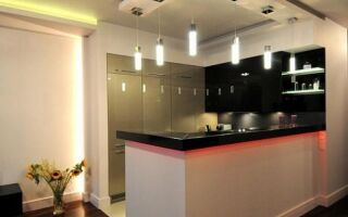 Кухонное освещение. Какие лампы для кухни выбрать и как их организовать (ФОТО)