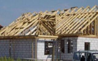 Какая крыша, какая конструкция крыши?