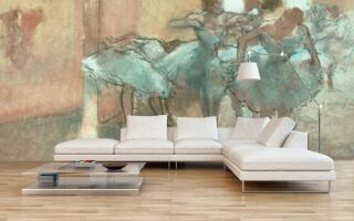 Настенная роспись подчеркивает стиль в квартире (аранжировки)