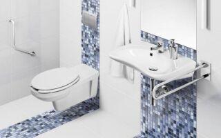 Ванная комната для инвалидов. Что должно быть в нем. руководство