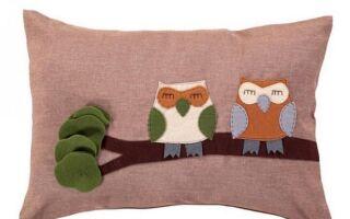 Картина: Подушка в сов
