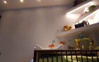 Освещение в детской комнате — что выбрать. руководство
