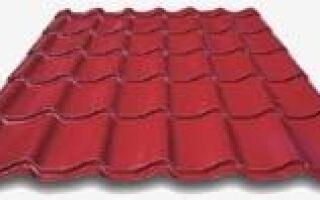 Листовая крыша Alfa