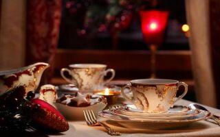Как подавать рождественские блюда. руководство