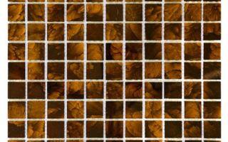Рисунок 9: 3D Mazu Dark Resin 25 стеклянная плитка