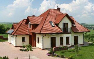 Крыша, покрытая плиткой — сложные элементы
