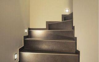 Декоративное и функциональное освещение лестниц. Доступные типы освещения лестниц