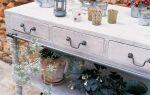Отбеливание мебели — шаг за шагом. DIY