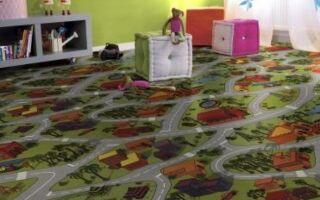 Пол для детской комнаты. Что выбрать для маленьких ног
