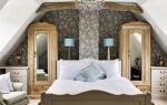 Спальня на чердаке — как ее устроить. Руководство (фотографии)