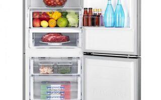 Холодильник маленький, но упакованный