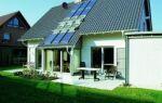 Крыша в энергосберегающем доме