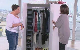 Как организовать пространство в шкафу (ВИДЕО)