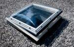 Окно на плоскую крышу — как смонтировать?