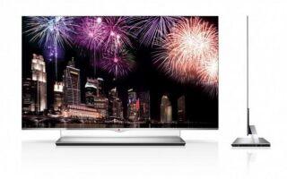 55-дюймовый телевизор толщиной 4 миллиметра
