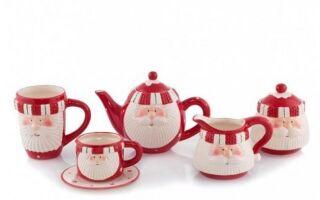 Рисунок 1: Чашки с мотивом Санта