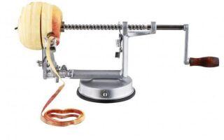Apple peeler — гениальный и недорогой кухонный гаджет