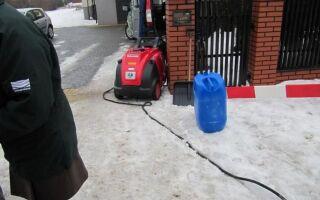 Защитите подсоединение воды к зиме, чтобы трубы не замерзали
