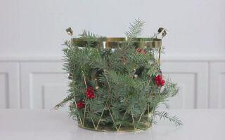 Идеи для украшения вашего дома на Рождество (ВИДЕО)
