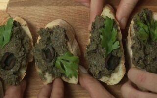 Оливковая тапенада — рецепт вкусной закуски (ВИДЕО)